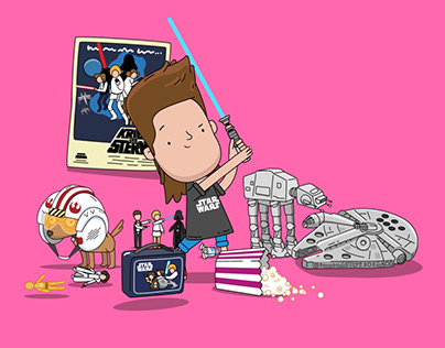 Jacky Winter artists for Star Wars