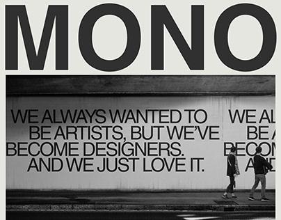 Mononomo Studio | Web Design & Branding