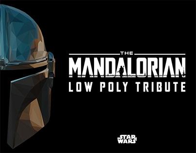 The Mandalorian - Low Poly Tribute