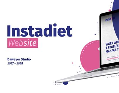 Instadiet Web Design | 2018