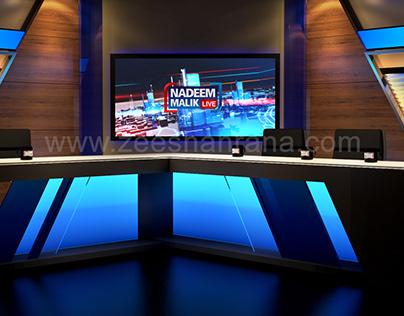 Nadeem Malik Live Set Design