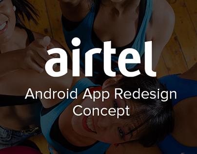 Airtel Redesign Concept