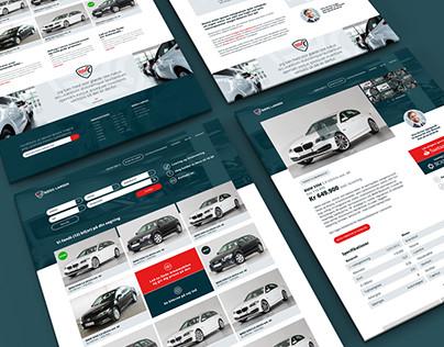 Bjerg Larsen Logo and Webdesign