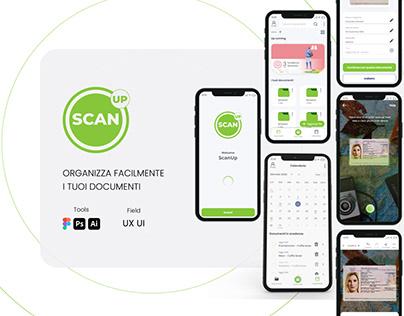 Scanup app Ux/Ui