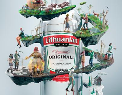 Lithuanian Vodka Originali Velykinė Limited Edition