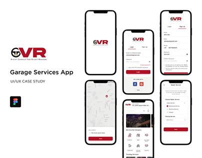 Online Garage App