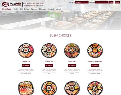 Yakimix Website Redesign