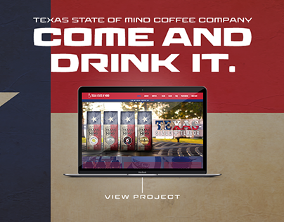 Texas State of Mind Coffee Company | Branding, Website