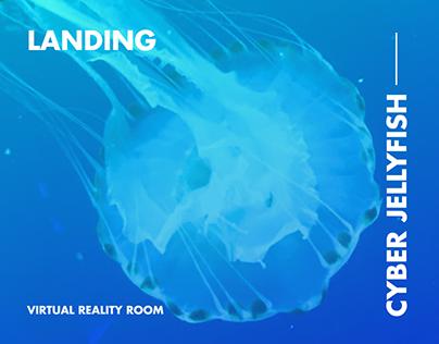 VR room Landing Page