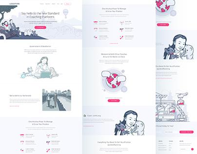 Pocket Landing Page