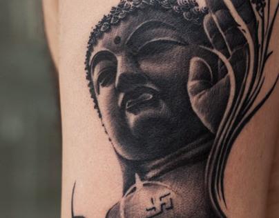 Gautam Buddha Tattoo