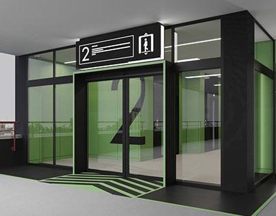 Lift Hall design