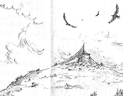 藏區速寫精選/Sketches in China