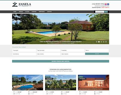 Web Site - Zanela Imóveis