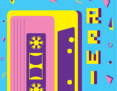 Rewind Pixel Type / Specimen Book