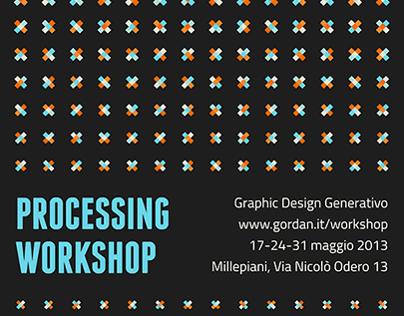 Processing Workshop Poster