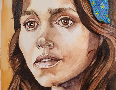 Portrait of Jenna Coleman in The Serpent