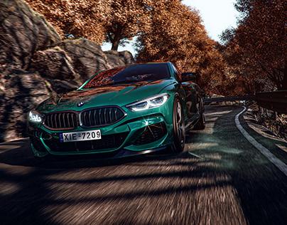 BMW M8 AUTUMN SCENE