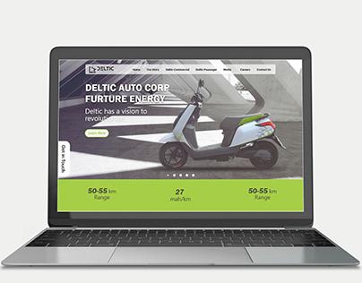 UI Design for Deltic Auto Corp