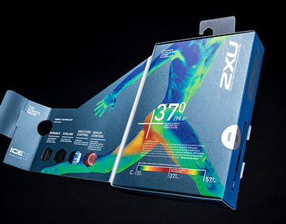 2XU Sports Underwear Packaging
