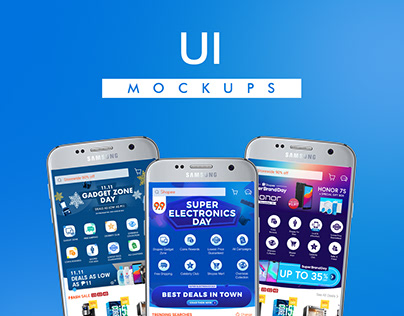 UI Mockups