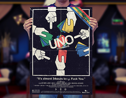 Uno: The Movie Poster (Experiment)