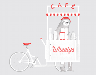 Mascot for Wheelys cafe