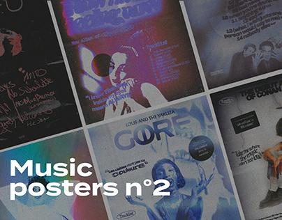 Music posters n°2