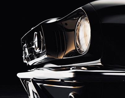 1965 Ford Mustang - CGI