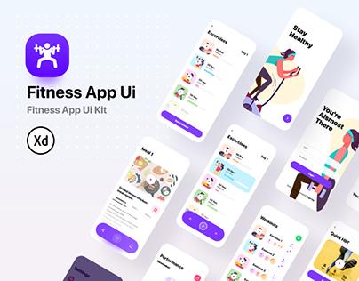 Fitness App Ui Kit