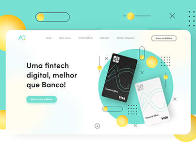 AQBank - Website e app
