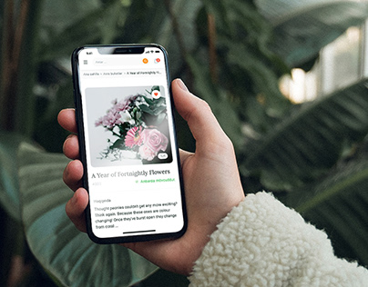 Florist Product/UX/UI Design