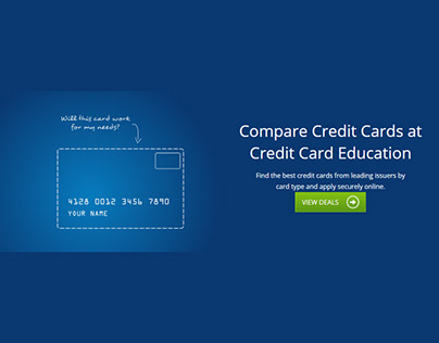 Credit Card Education Google Display Ads