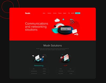 Modn UI/UX Design.