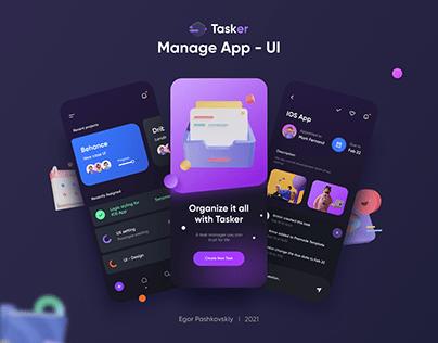 Manage App - UI
