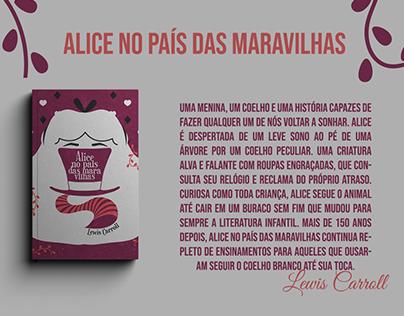 Alice No País Das Maravilhas - Capa Em Partes