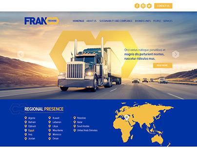 Franco Website Redesign