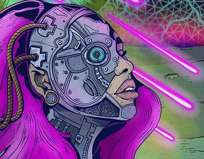 Neuromancer concert poster