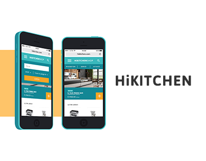 HiKitchen | WEB DESIGN
