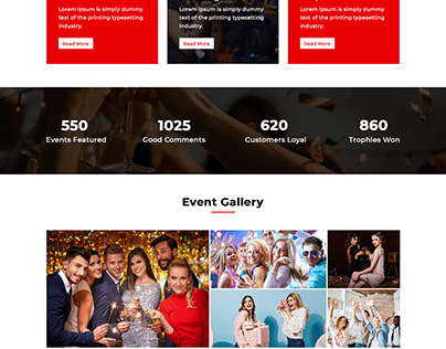 Anevent - Event conference Management PSD Template