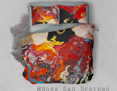 Nora Gad Pattern designs/Bedding