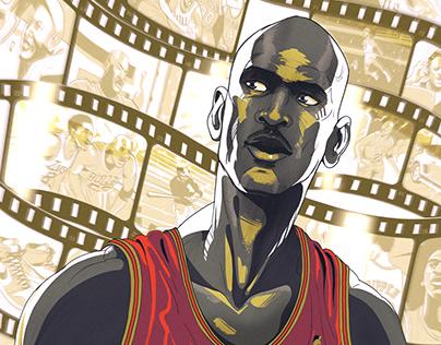 """""""Michael Jordan Portrait: The Last Dance"""""""