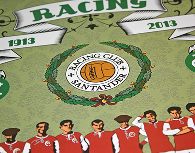 Calendario del centenario del Real Racing Club