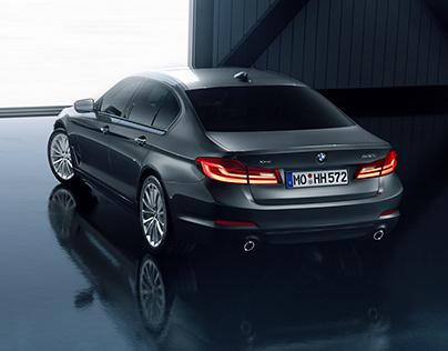 BMW 530i - CGI & Retouching