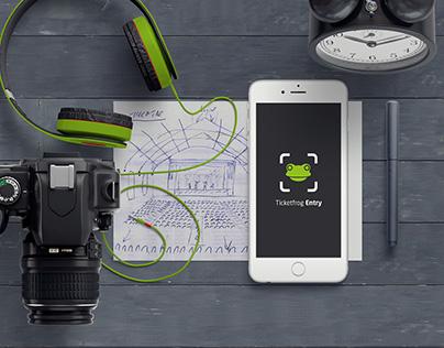 Ticketfrog Entry App