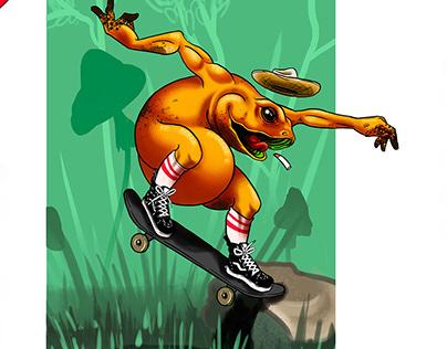 De Madera Skateboard