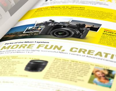 Magazine Advertorials   Nikon
