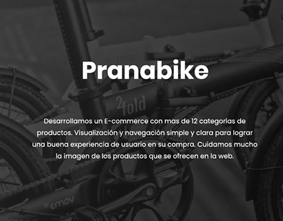 Pranabike - E-commerce