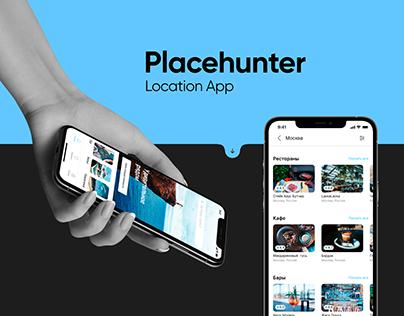 Placehunter - Mobile App UX/UI