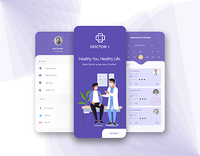 Doctor Plus | Case Study UIUX